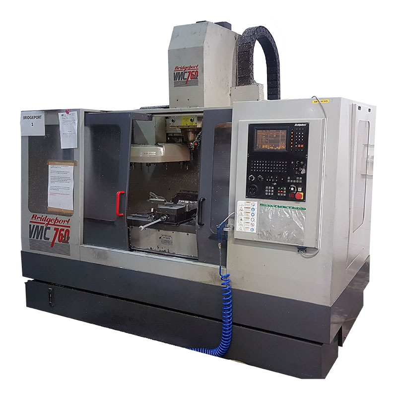 1 X Bridgeport VMC 760 – 3 Axis Machining Centre